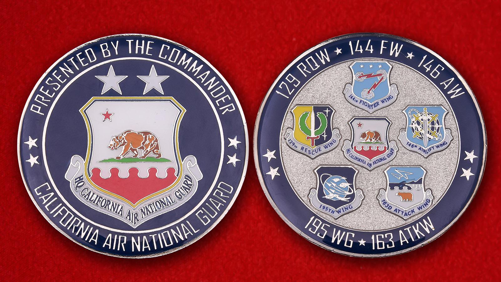 California Air National Guard Challenge Coin