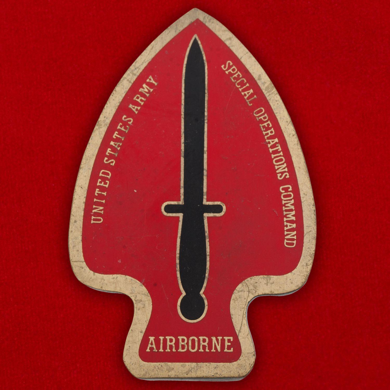 """Челлендж коин """" Подразделению Delta Force специального назначения армии США от Главнокомандующего"""""""