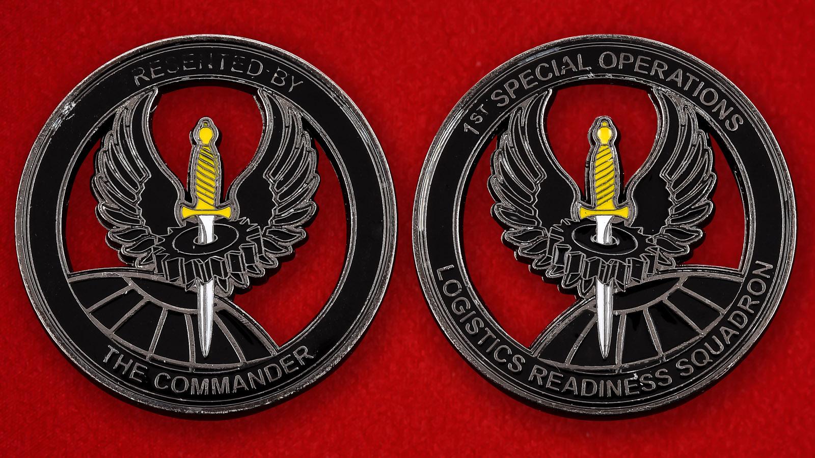 """Челлендж коин """"1-е крыло Командования специальных операций ВВС США"""""""