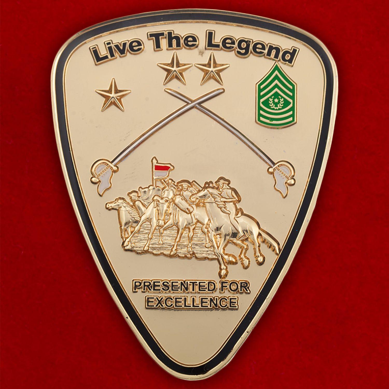 Челлендж коин 1-й Кавалерийской дивизии Армии США
