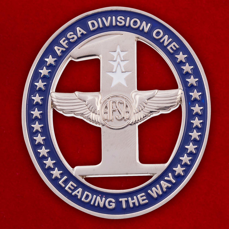 Челлендж коин 10-го отдела Ассоциации сержантов ВВС США