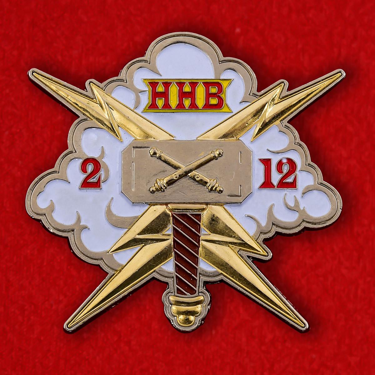 Челлендж коин 2-го батальона 12-го полка Полевой артиллерии армии США