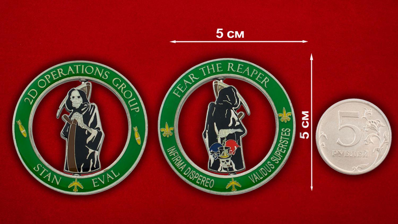 Челлендж коин 2-й Оперативной группы Командования глобальных ударов ВВС США