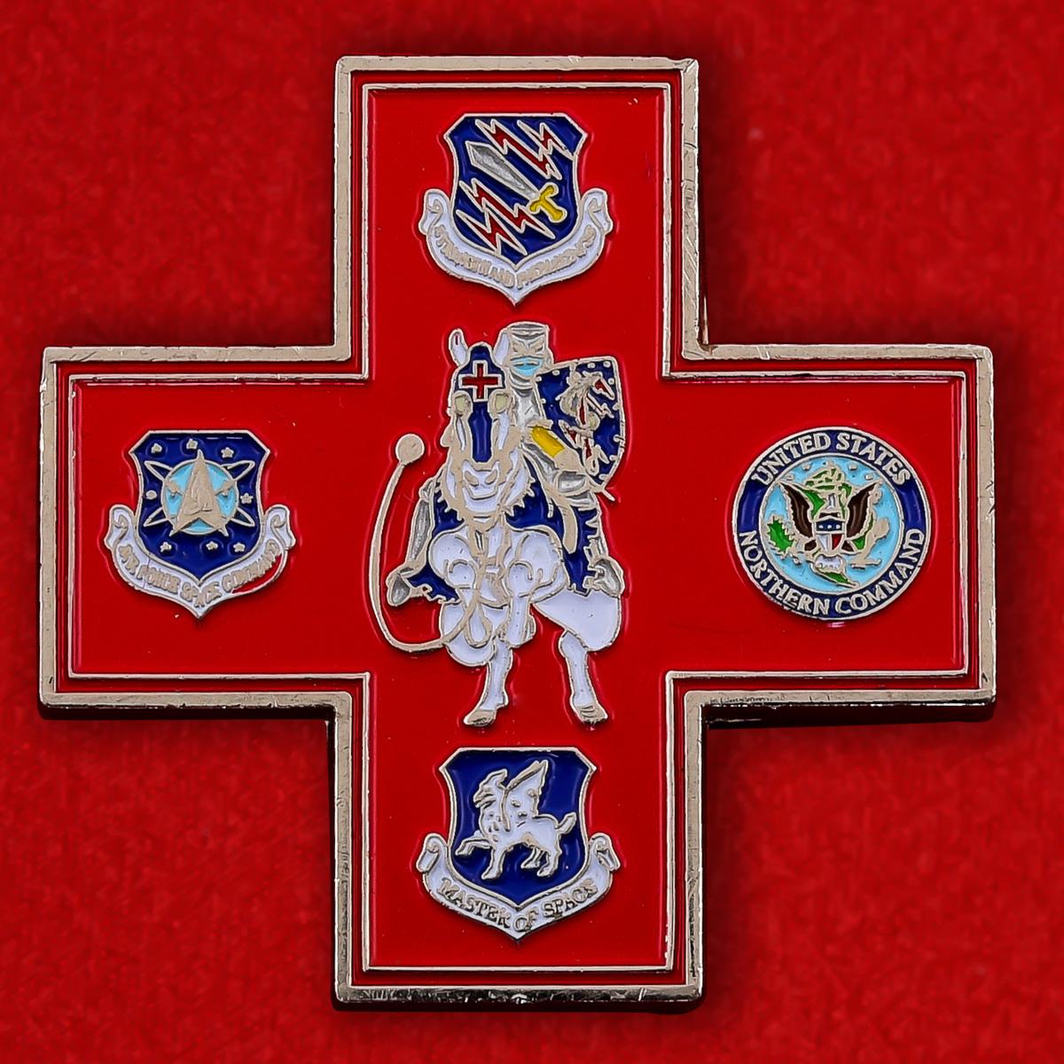 Челлендж коин 21-ой Медицинской группы авиабазы Петерсон
