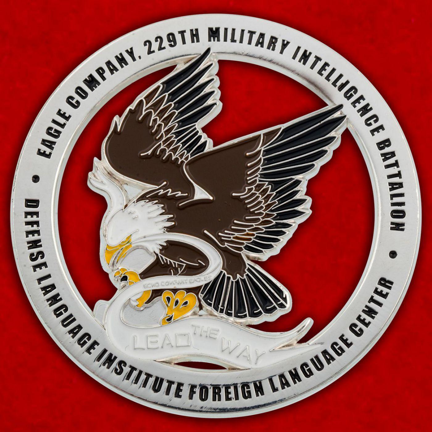 """Челлендж коин """"229-й Батальон Военной разведки Армии США"""""""
