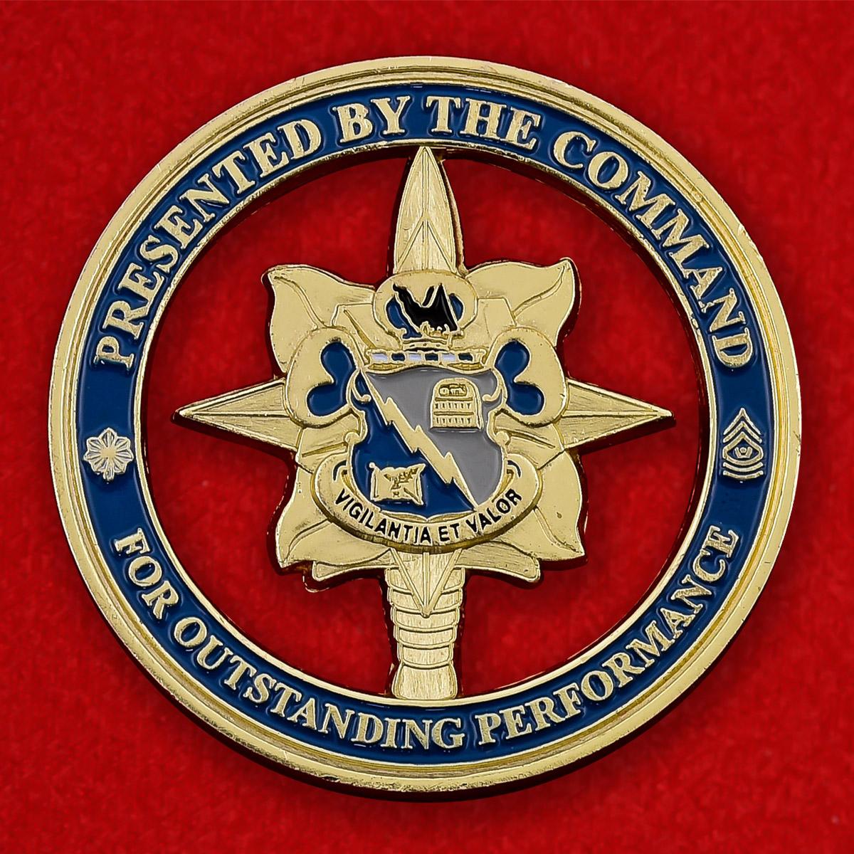"""Челлендж коин """"341-му батальону Военной разведки от командования"""""""