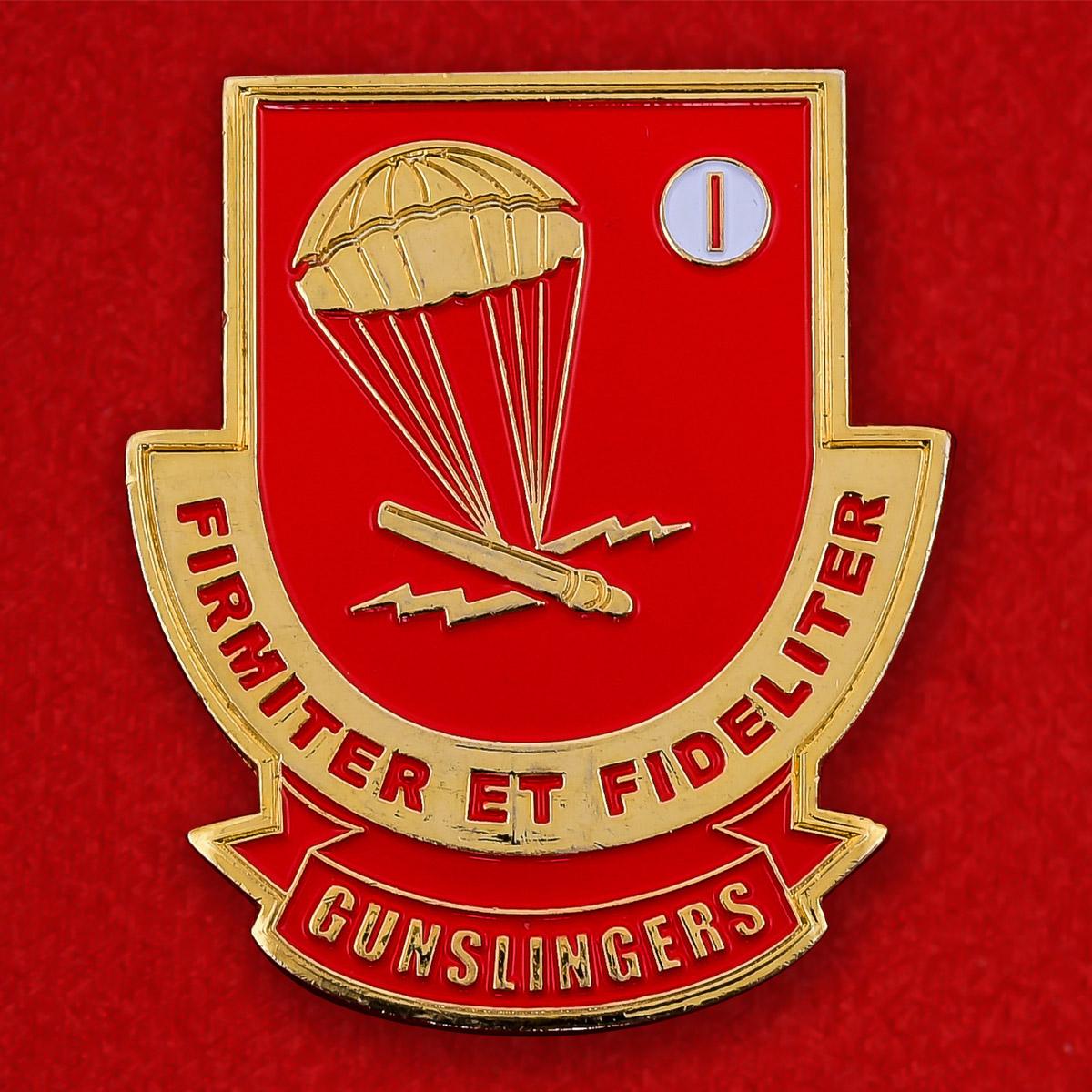Челлендж коин 377-го артиллерийского полка ВДВ США