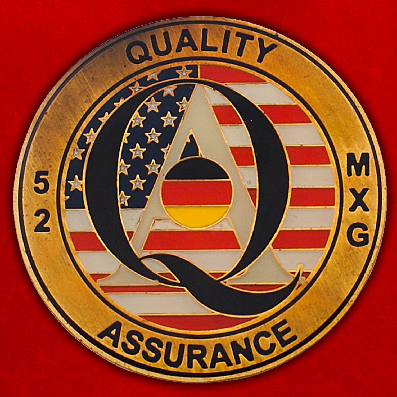 Челлендж коин 52-й группы технического обслуживания ВВС США