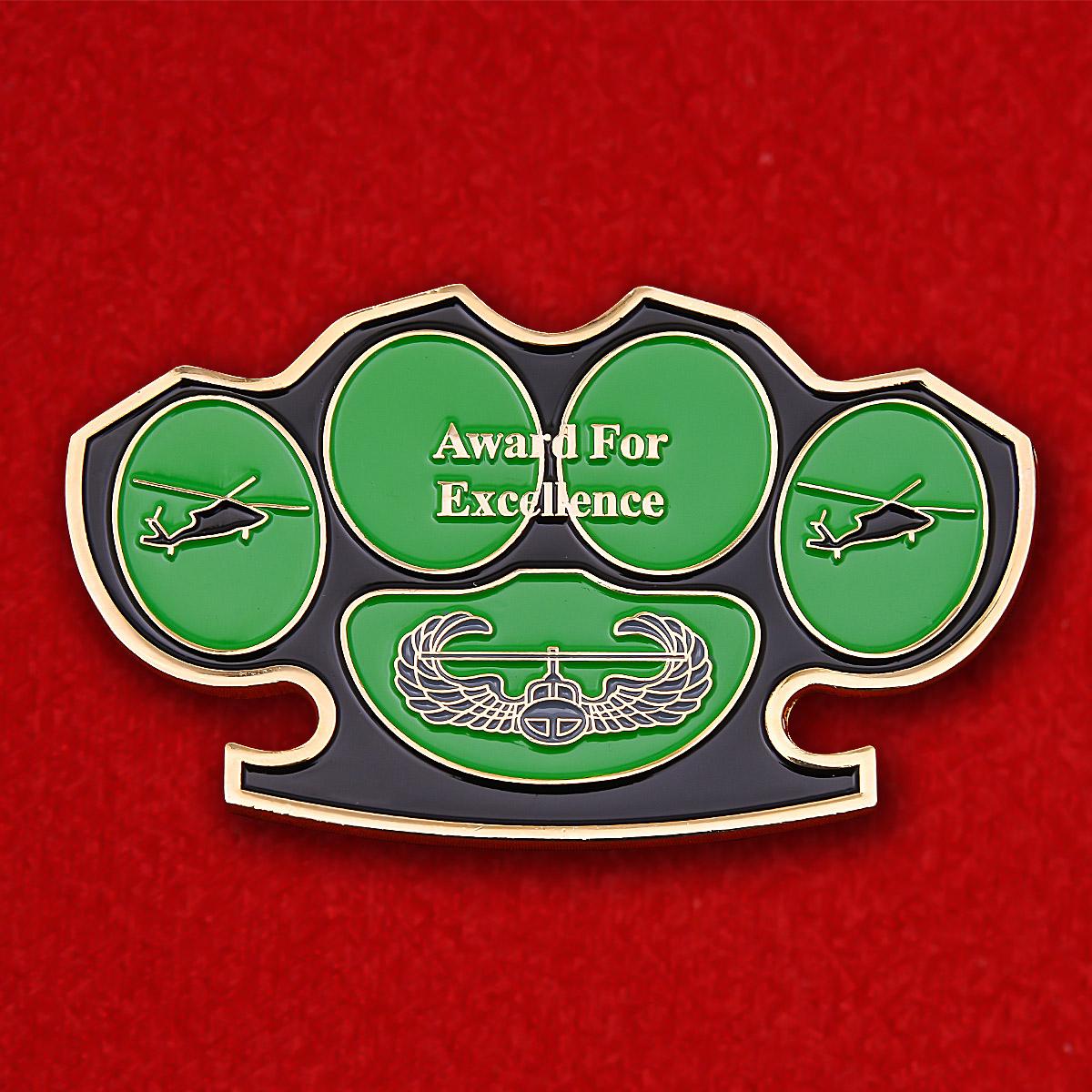 """Челлендж коин 561-й роты Военной полиции Армии США """"За отличие в службе"""""""
