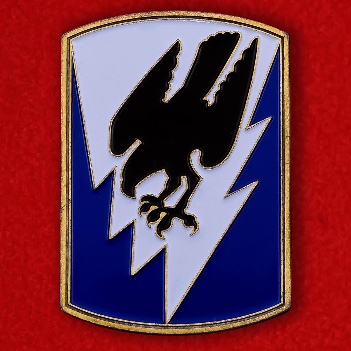 Челлендж коин 66-й авиационной бригады Национальной Гвардии США