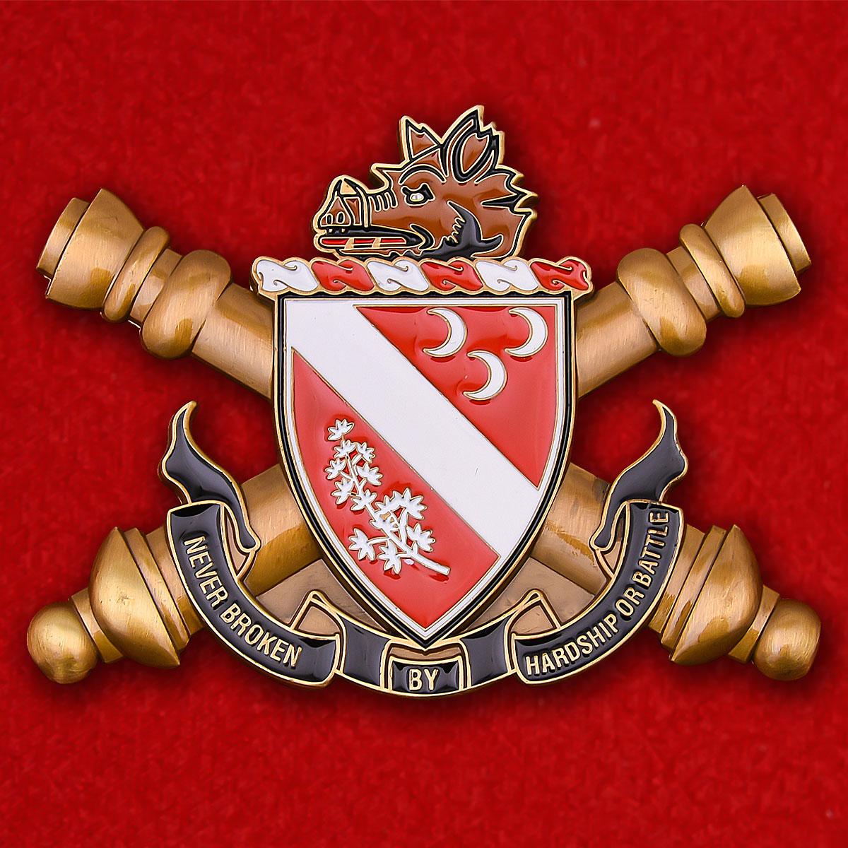 Челлендж коин 7-го полка полевой артиллерии Армии США
