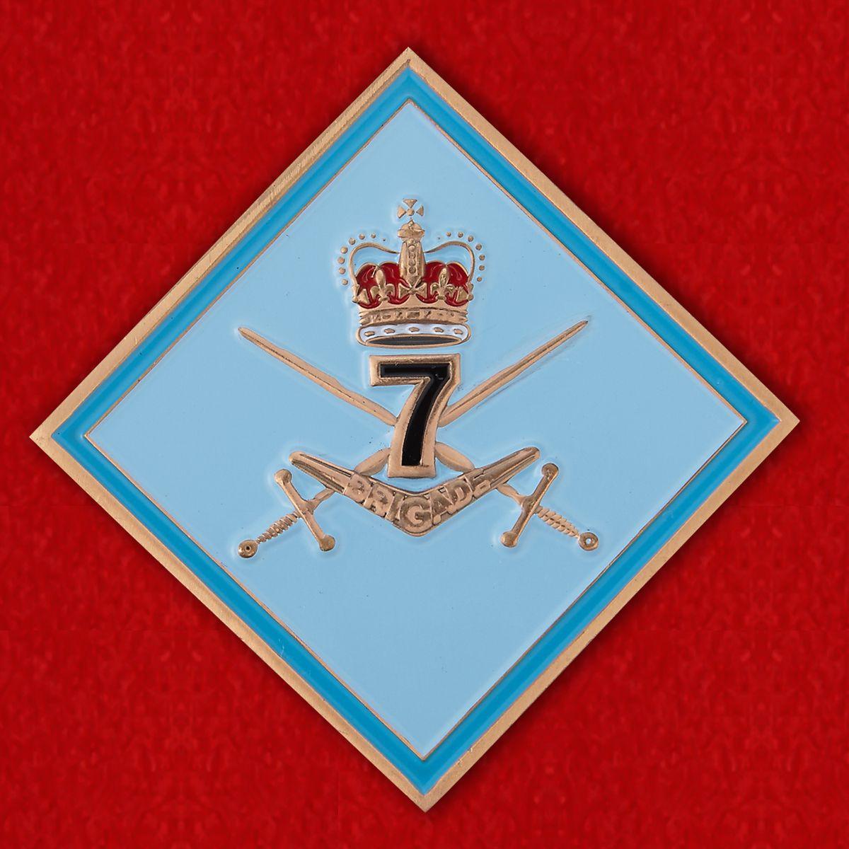Челлендж коин 7-й Общевойсковой бригады Австралийской армии