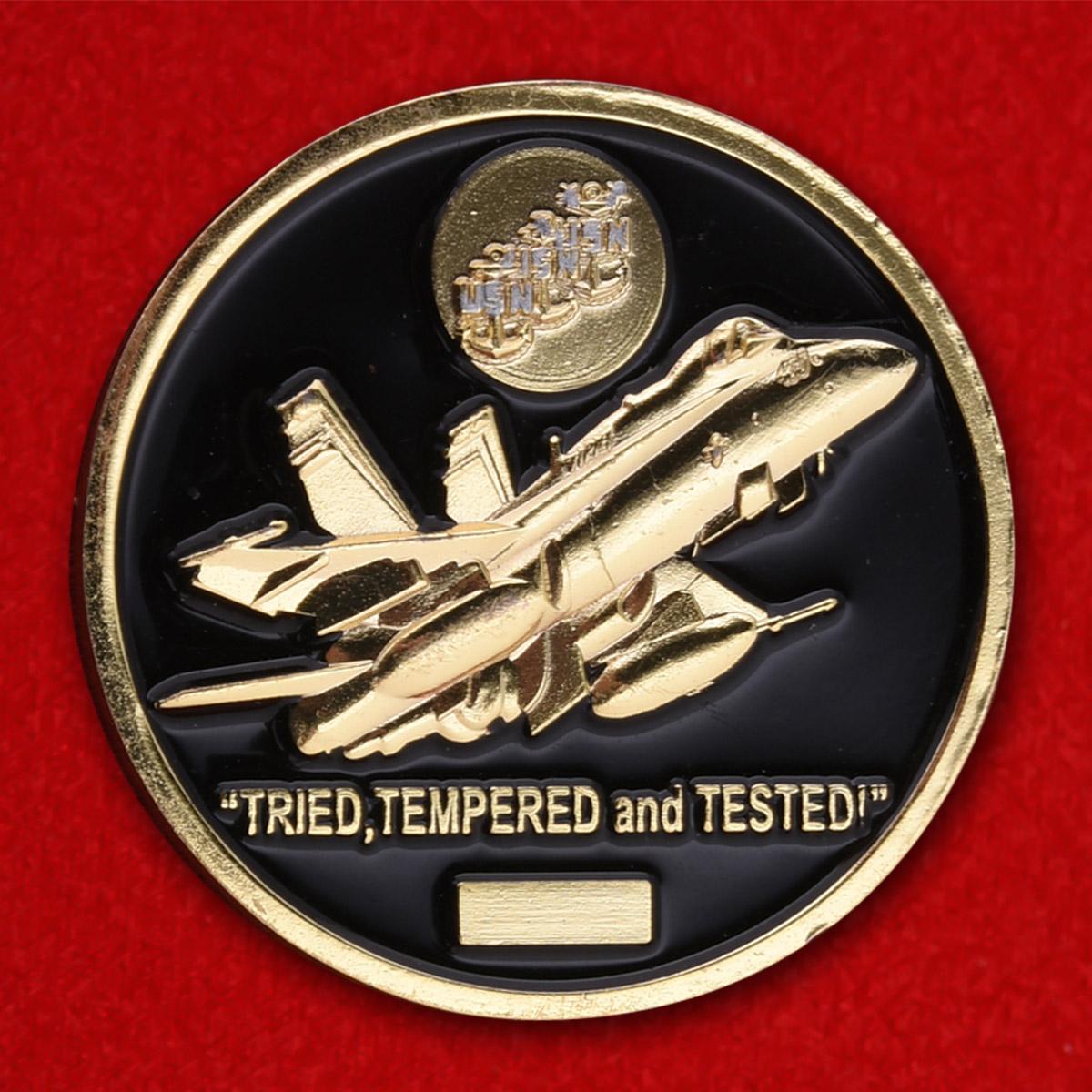 Челлендж коин 94-й Истребительной эскадрильи ВВС США