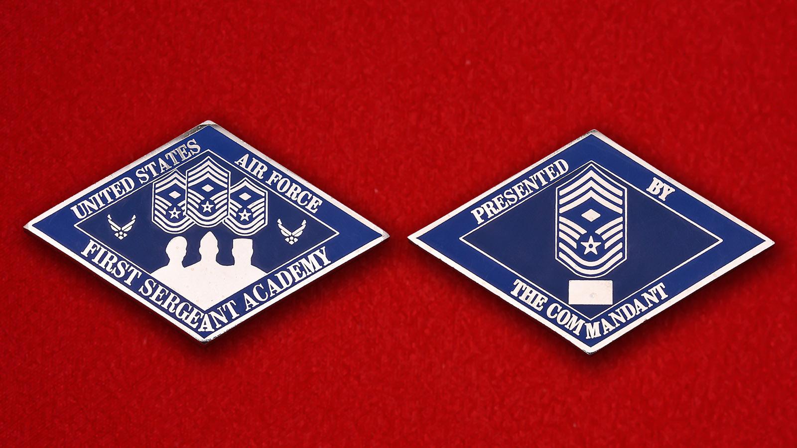 """Челлендж коин """"Академия первых сержантов ВВС США"""""""