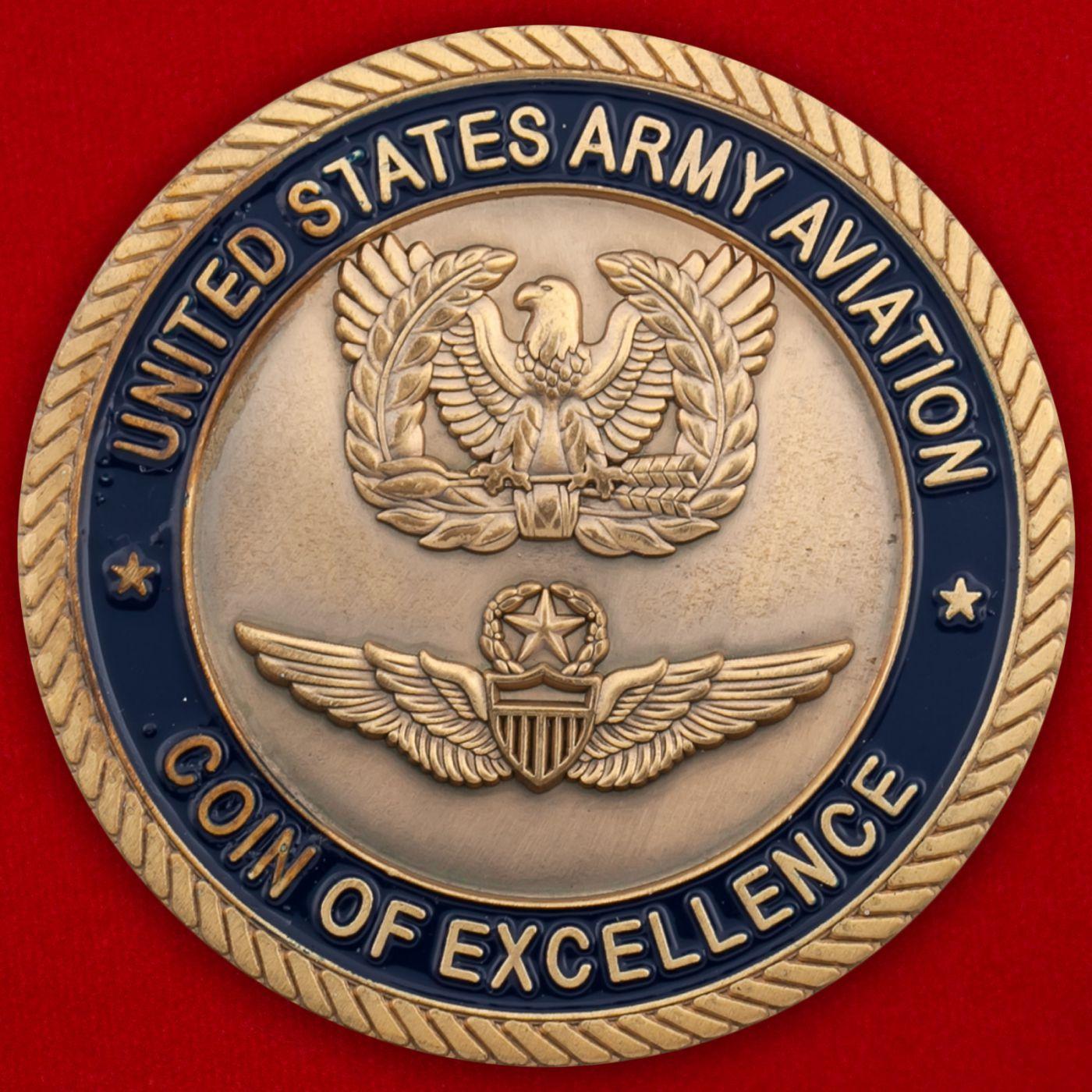Челлендж коин Армейской авиации США