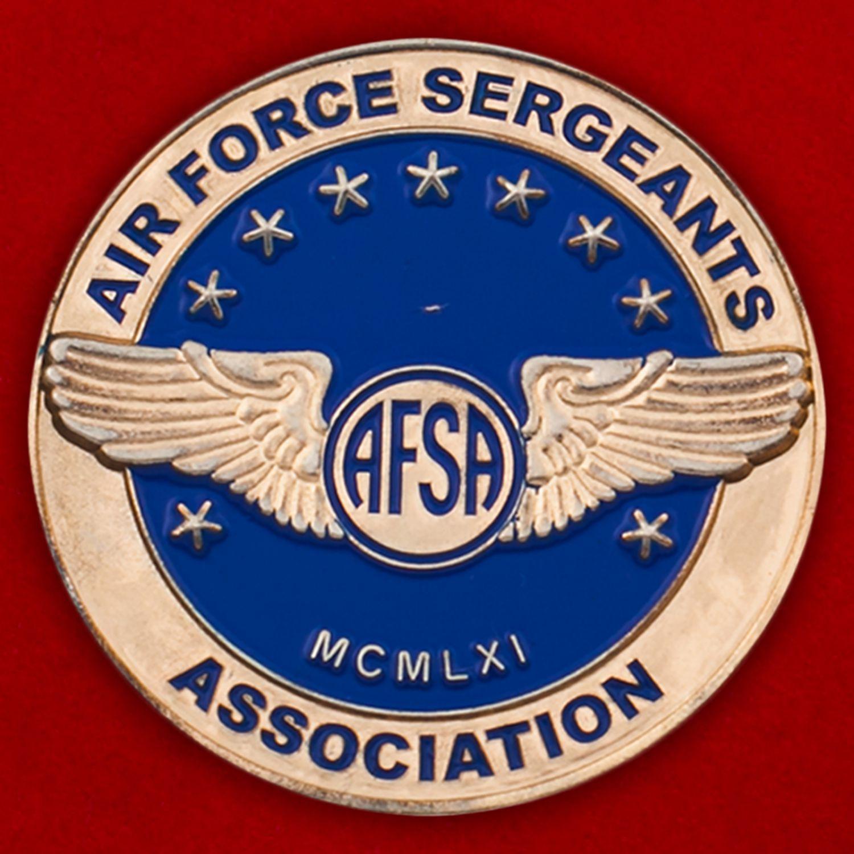 Челлендж коин Ассоциации сержантов ВВС США