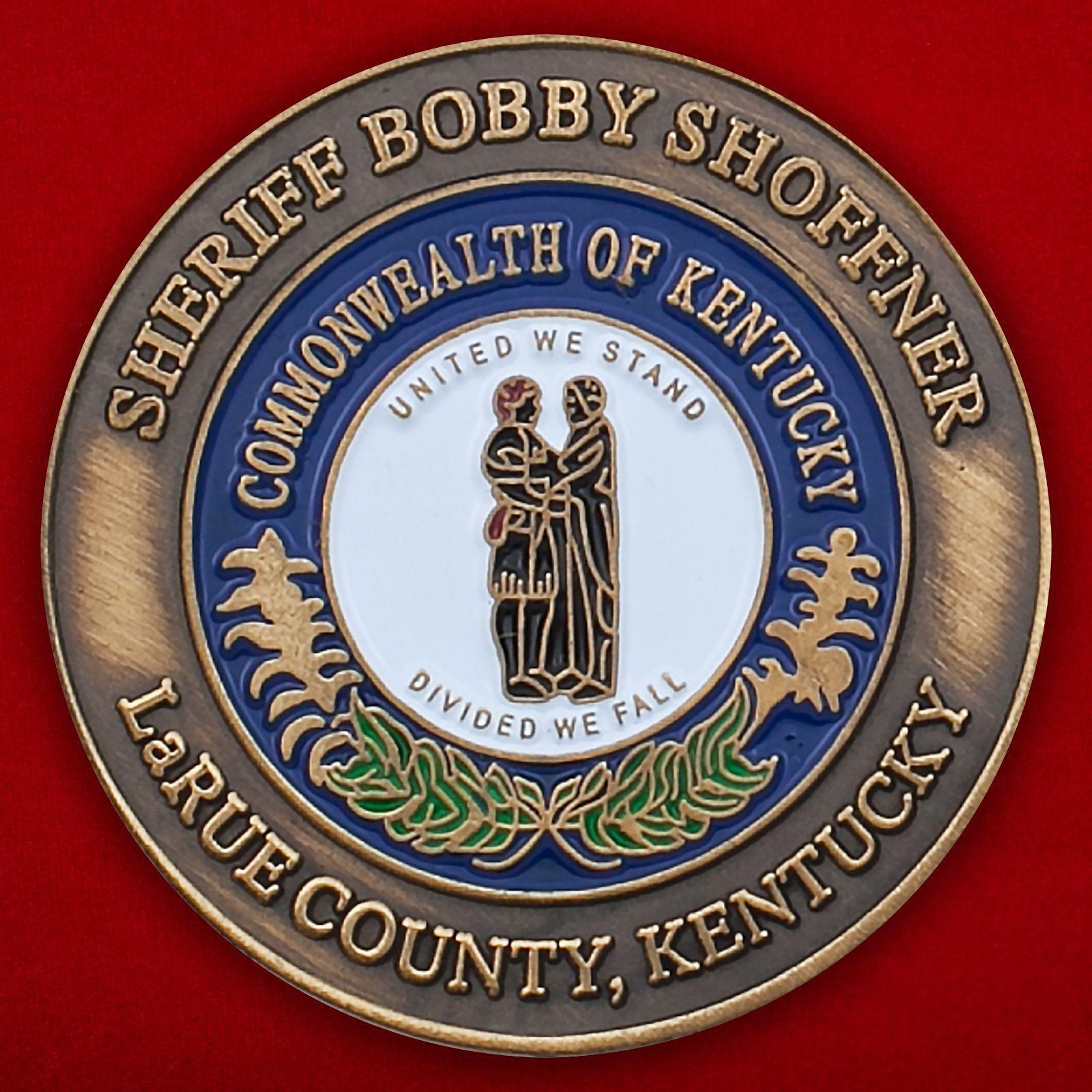Челлендж коин Ассоциации шерифов штата Кентукки