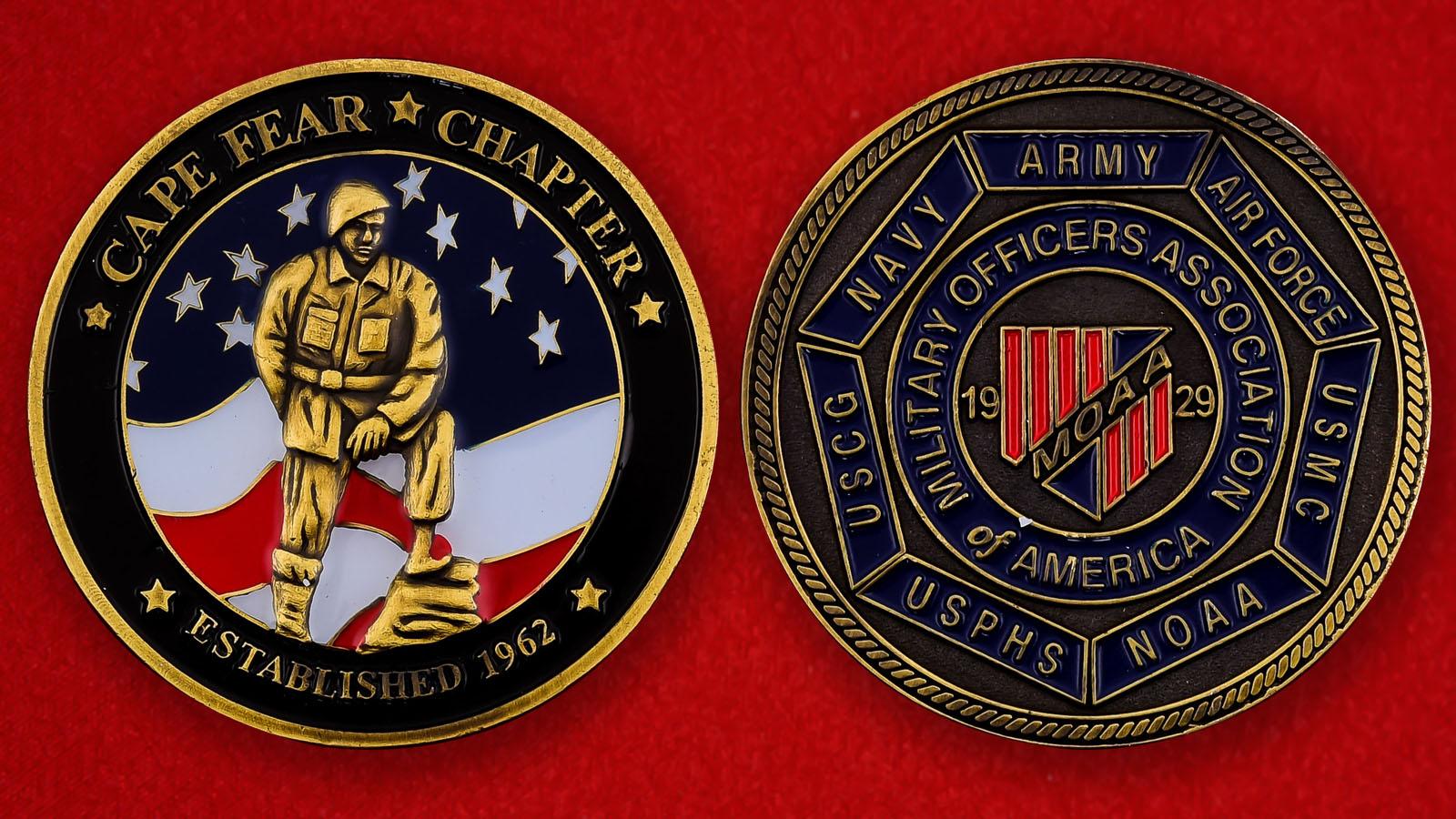 "Челлендж коин ""Ассоциация офицеров Америки"""