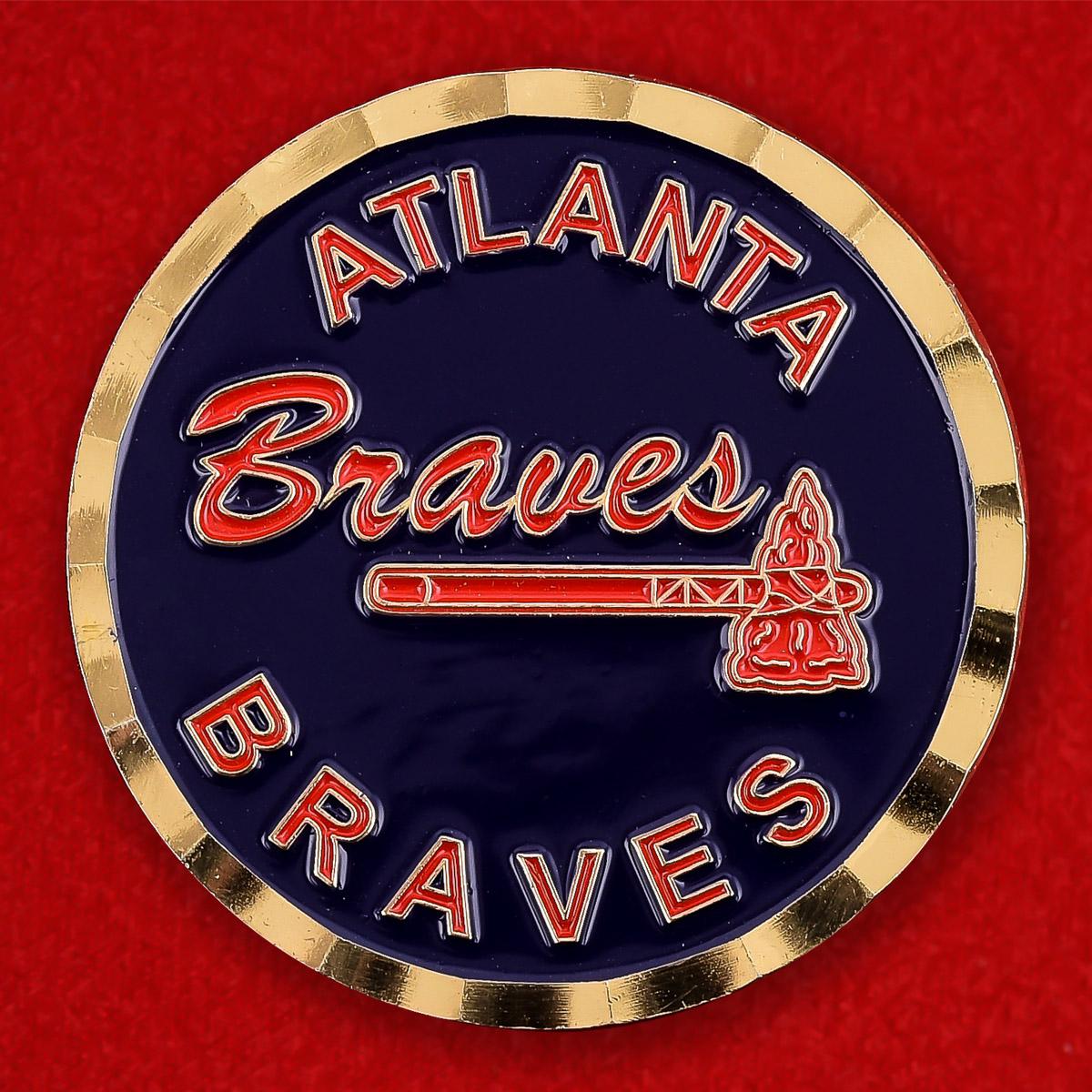 """Челлендж коин """"Atlanta Braves в поддержку Операции Несокрушимая Свобода"""""""