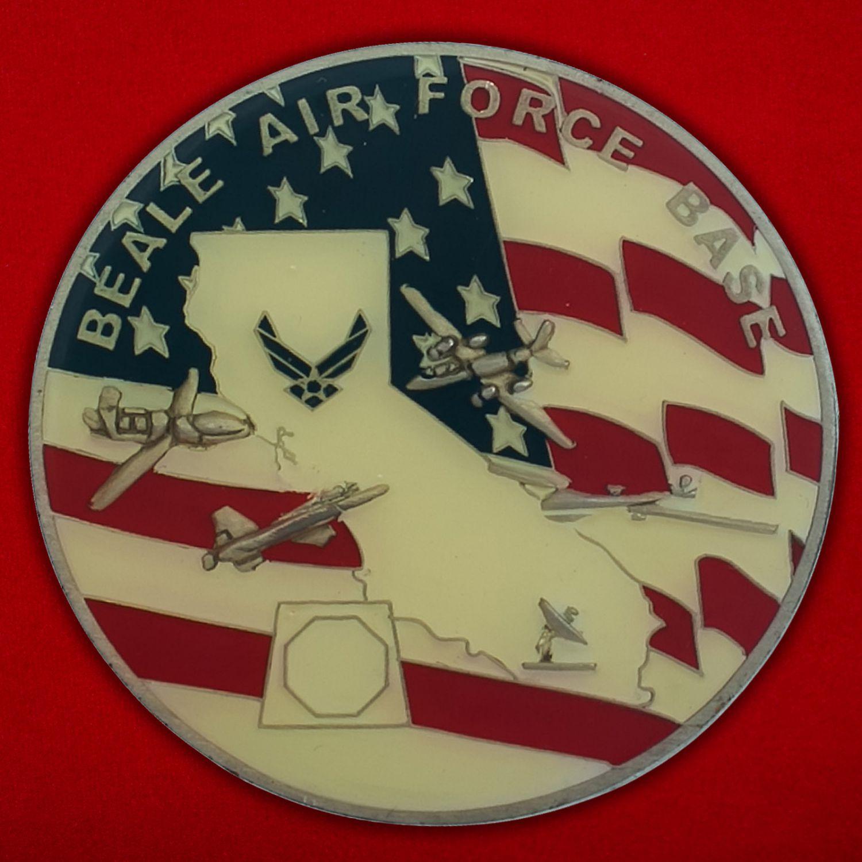 Челлендж коин авиабазы Бейл ВВС США