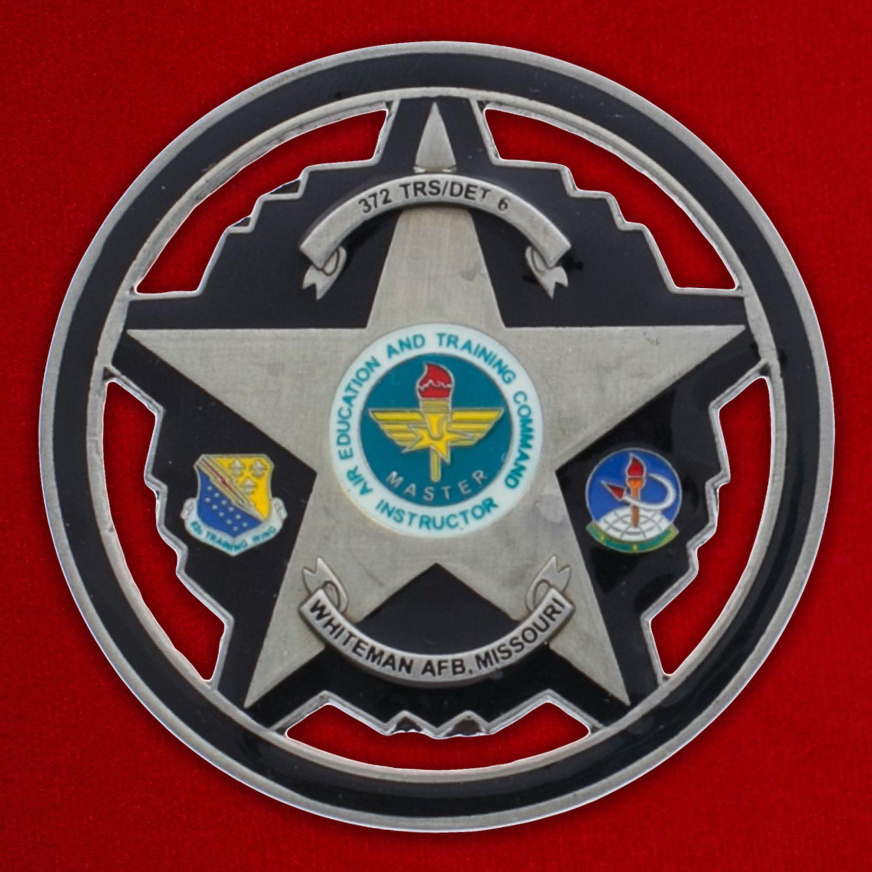 Челлендж коин авиабазы Уайтмен ВВС США