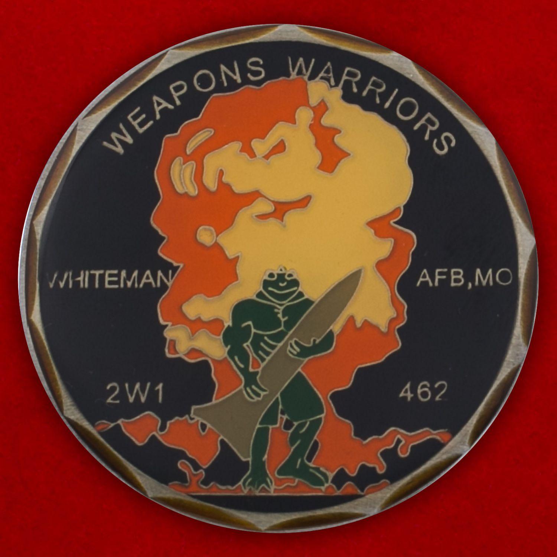 Челлендж коин авиабазы Витерман ВВС США
