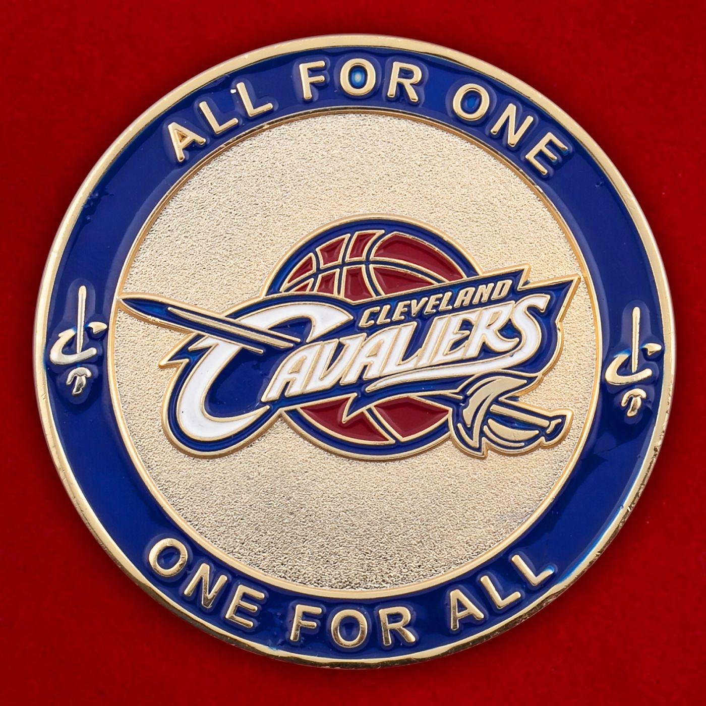 """Челлендж коин баскетбольного клуба """"Кливленд Кавальерс"""""""