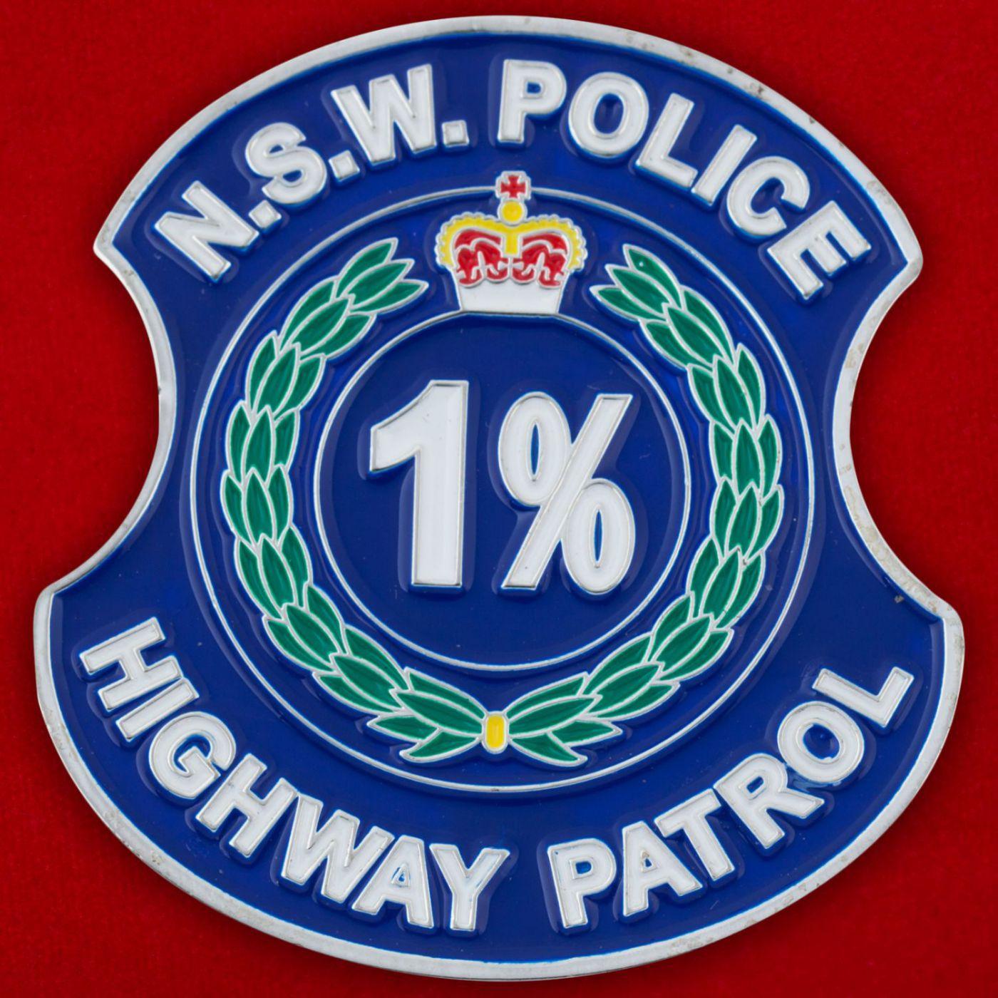 Челлендж коин Дорожного патруля полиции штата Новый Южный Уэльс (Австралия)