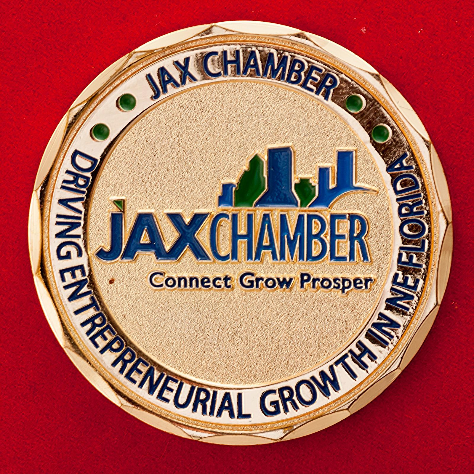 Челлендж коин финансово-промышленной группы Jax Chamber