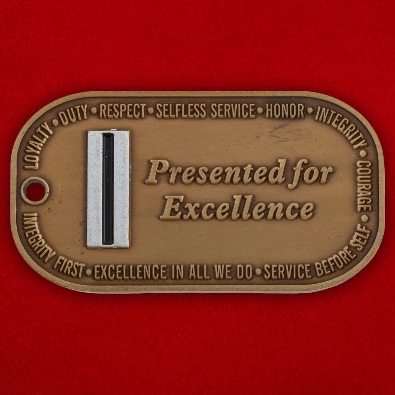 Челлендж коин Генерал-адьютанта Нацгвардии США штата Айова