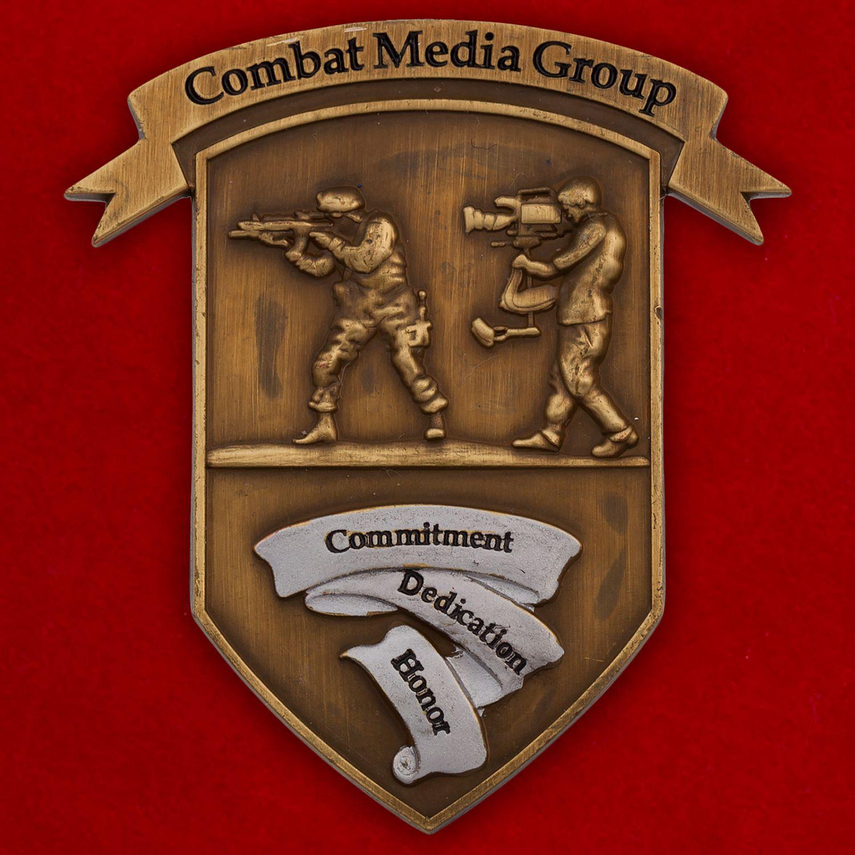 Челлендж коин группы по уважению к культуре и традициям других народов при пресс-службе ВВС США