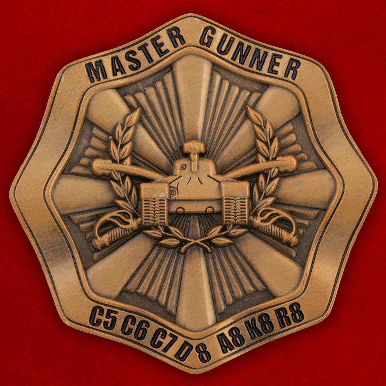 Челлендж коин к 40-летию соревнований бронетанковых подразделений Армии США