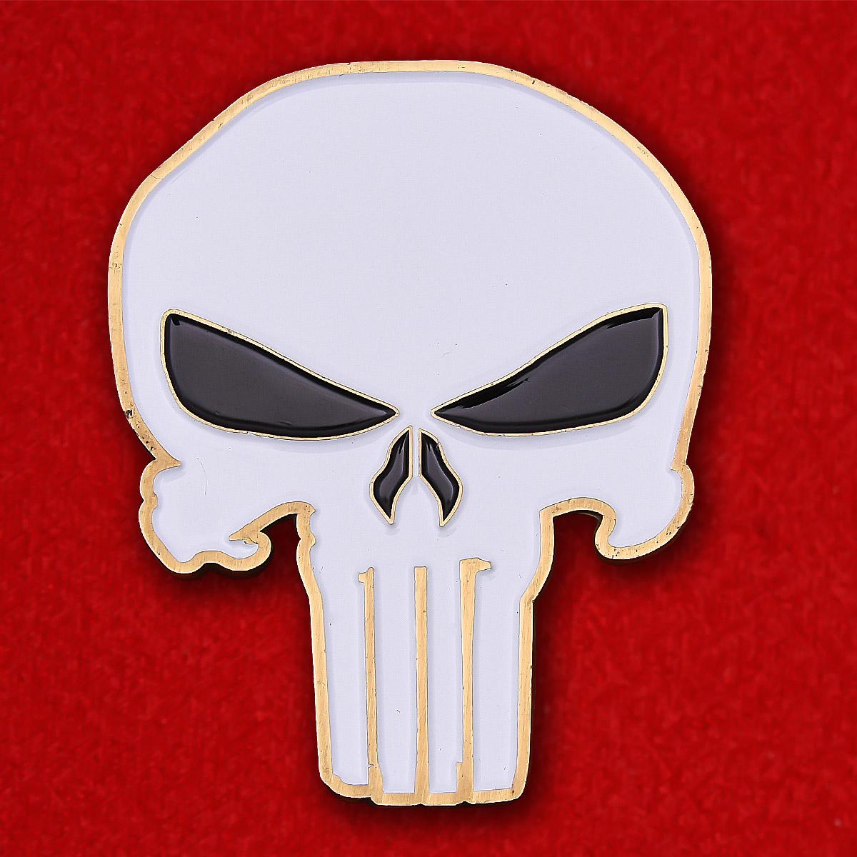 """Челлендж коин """"Каратель"""" за проведение тайных операций в Ираке и Афганистане"""