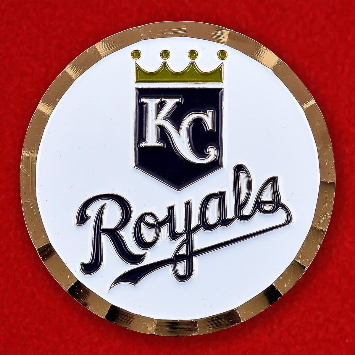 """Челлендж коин """"KC Royals в поддержку Операции Несокрушимая свобода"""""""