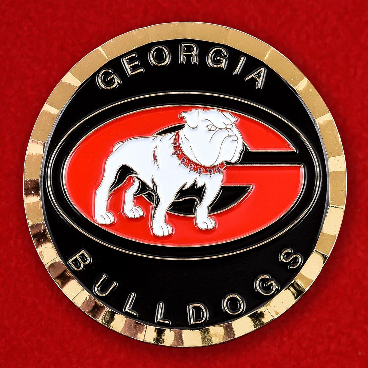 Челлендж коин клуба Georgia Bulldogs
