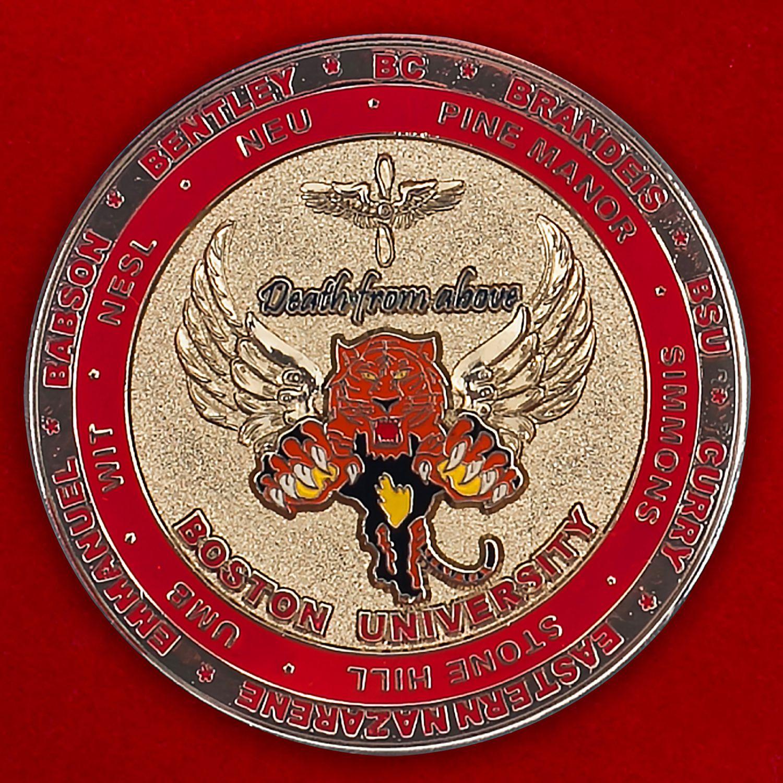 Челлендж коин Колледжа ВВС США при Бостонском универстете