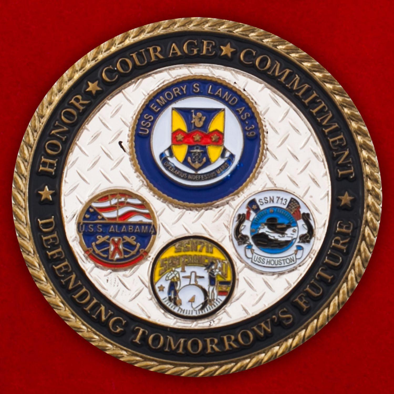 Челлендж коин командования ВМС США