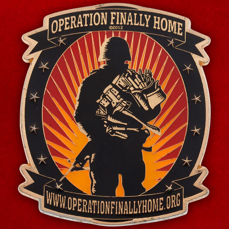 Челлендж коин компании-застройщика жилья для инвалидов и ветеранов военных действий (США)