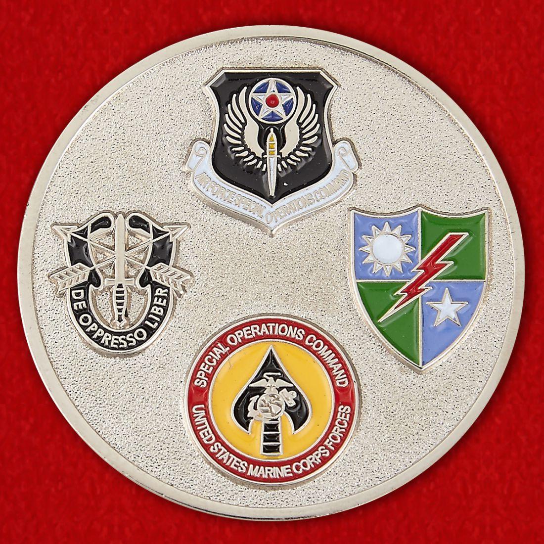 Челлендж коин контроллера боевых наступательных операций ВВС США