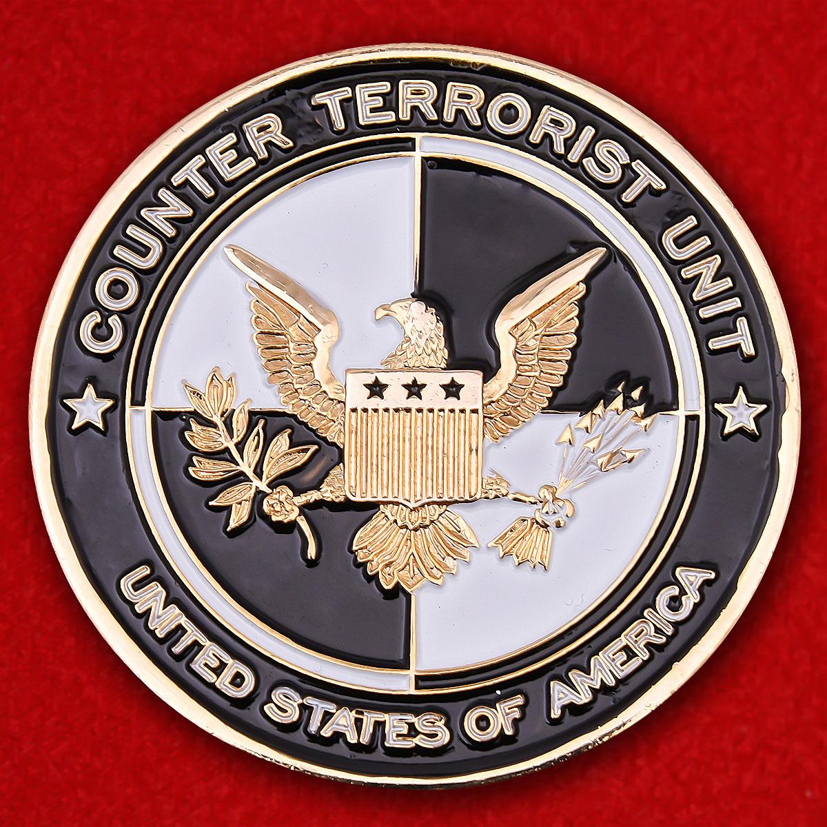 """Челлендж коин контртеррористических подразделений Армии США """"Операция несокрушимая свобода"""""""