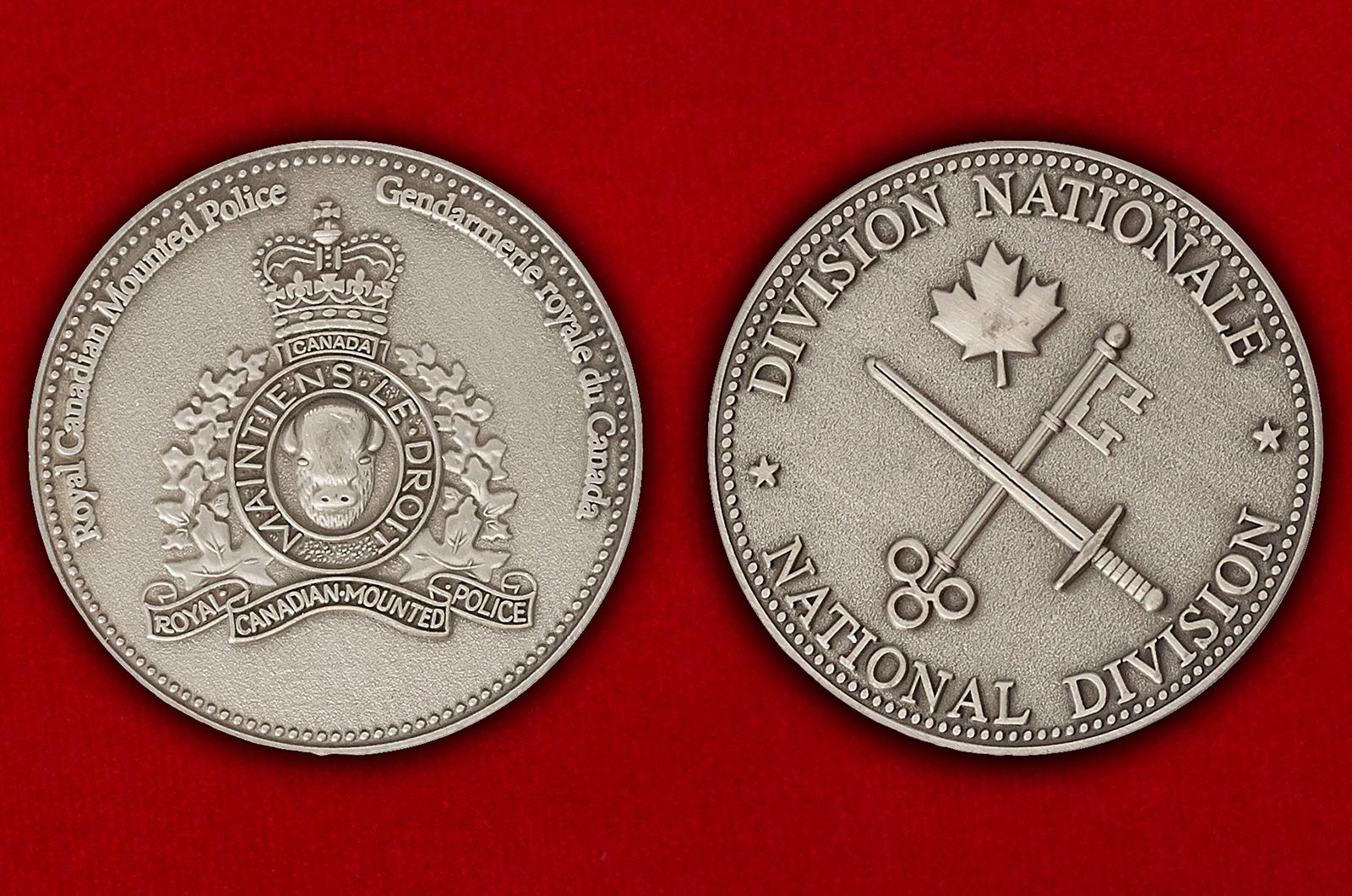 Челлендж коин Королевской конной полиции Канады