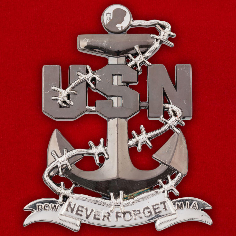 Челлендж коин Лиги семей военнопленных ВМС США