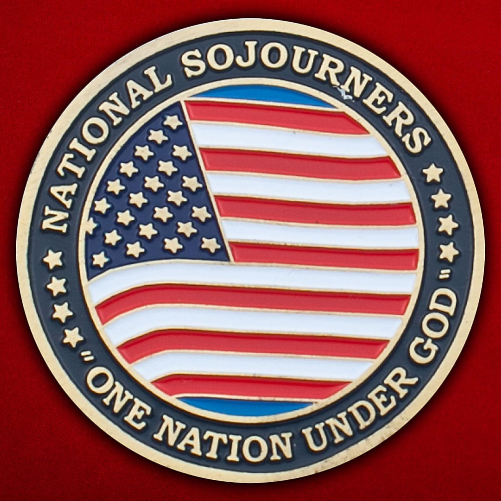 Челлендж коин масонской организации ветеранов ВС США