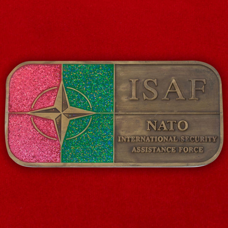 Челлендж коин Международных сил содействия безопасности НАТО в Афганистане