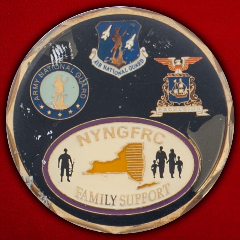Челлендж коин Национальной гвардии штата Нью-Йорк