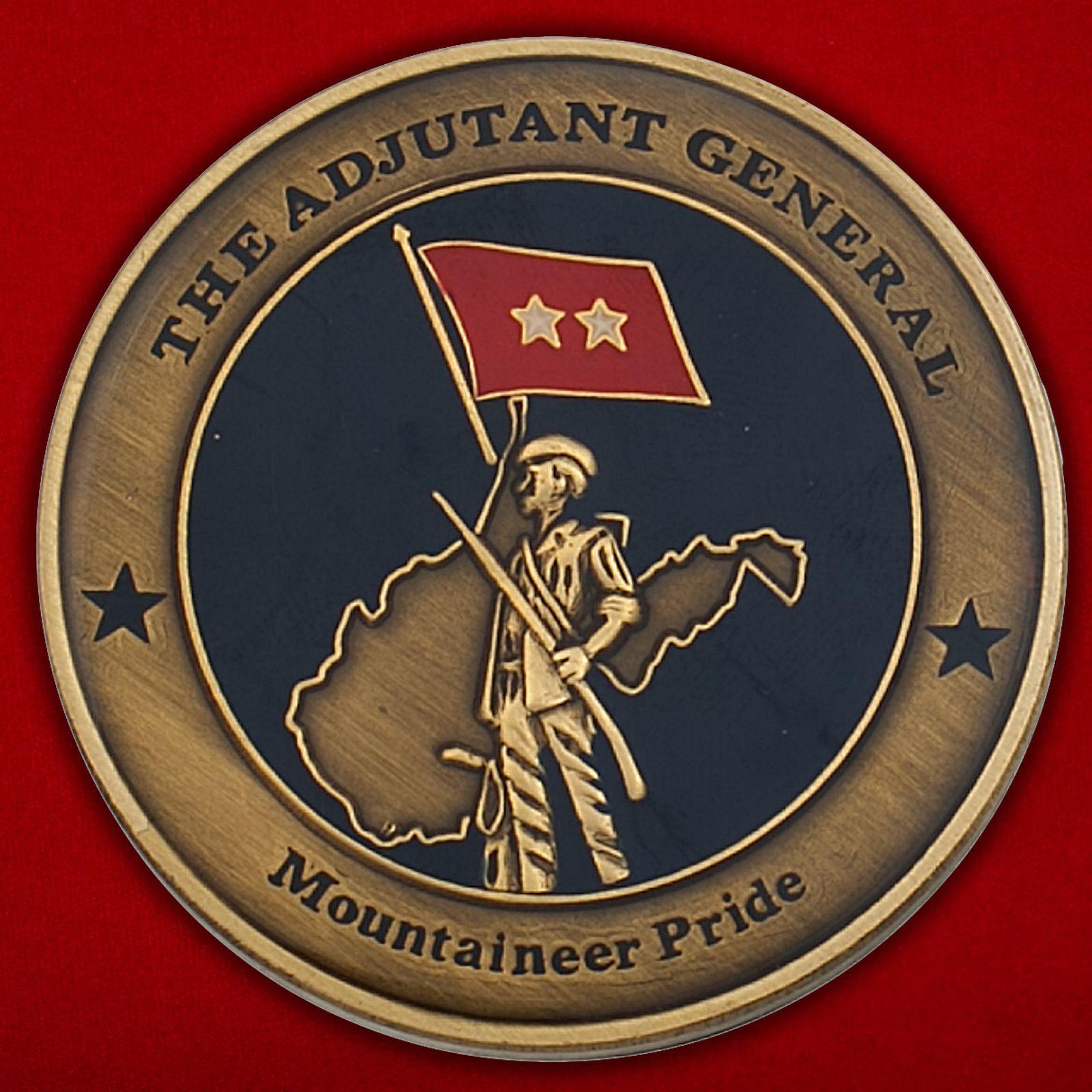 Челлендж коин Национальной гвардии США, штат Виргиния