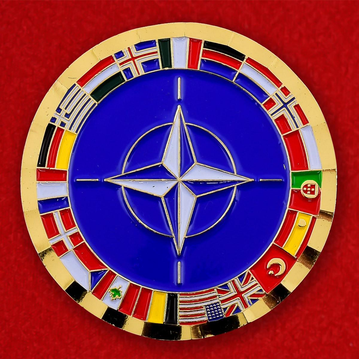 "Челлендж коин ""Объединенные силы НAТО в Афганистане"""