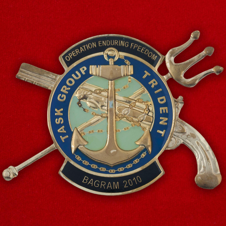"""Челлендж коин Оперативной тактической группы """"Трайден"""" ВМС США за операцию """"Несокрушимая Свобода"""""""