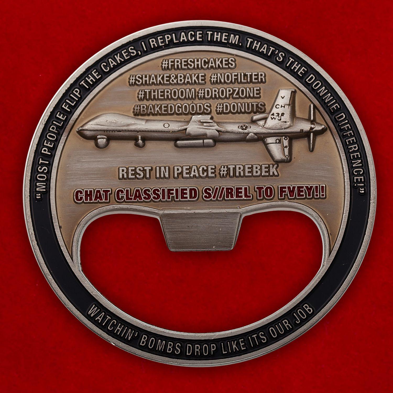 """Челлендж коин-открывалка """"12-я Авианосная ударная группа ВМС США"""""""