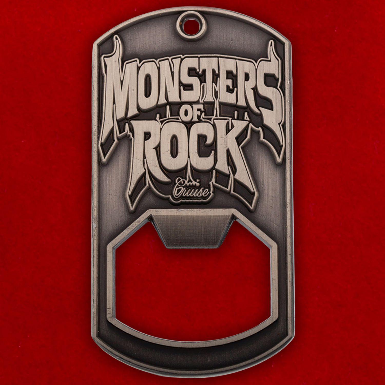"""Челлендж коин-открывалка """"Фестиваль Monsters of Rock"""""""